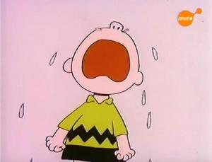 CharlieBrown cry